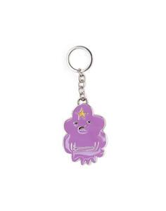 Adventure Time. Lumpy Space Princess Metal Keychain Metal Keychains U Purple