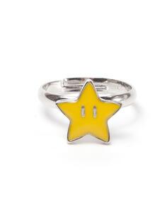 Anello Nintendo. Super Star Super Mario Ring Yellow
