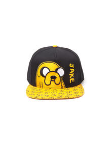 Cappello Adventure Time. Jake Snapback With Printed Bill Yellow