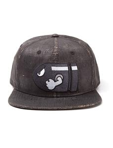 Cappello Nintendo. Bullet Bill With Embroidery Grey