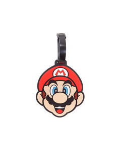 Portachiavi Nintendo. Super Mario Rubber Luggage Tag Multicolor