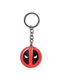 Portachiavi Deadpool. Metal Keychain Metal