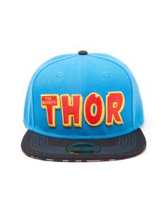 Cappellino Marvel Comics. The Mighty Thor Snapback Adjustable Blue