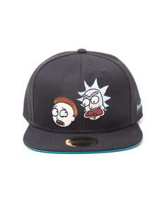 Cappellino. Rick And Morty Characters Snapback Black