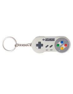 Portachiavi Super Nintendo. Controller Rubber Multicolor