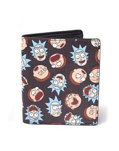 Portafoglio Rick And Morty. All Over Print Bifold Multicolor