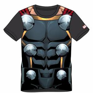 T-Shirt Unisex Tg. S. Marvel Sublimated Thor Black