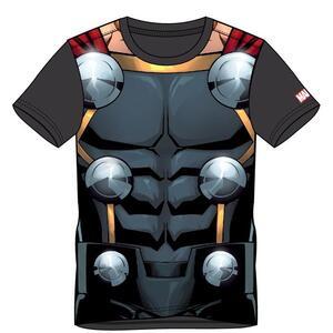 T-Shirt Unisex Tg. M. Marvel Sublimated Thor Black