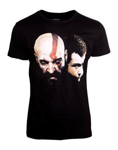 T-Shirt Unisex Tg. 2XL God Of War. Kratos Black