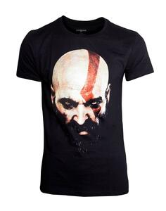 T-Shirt Unisex Tg. L God Of War. Kratos Son Black