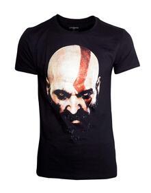 T-Shirt Unisex Tg. L God Of War. Kratos Son Black
