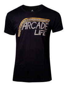 T-Shirt Unisex Tg. M Atari. Arcade Life Black