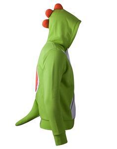 Felpa Con Cappuccio Bambino Tg. 110/116 Nintendo. Yoshi Novelty Green - 4