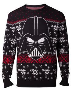 Felpa Unisex Tg. S Star Wars. Darth Vader Knitted Multicolor