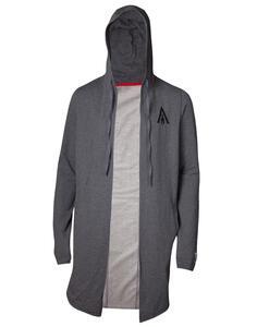 Felpa Con Cappuccio Unisex Tg. L Assassin'S Creed Odyssey. Apocalyptic Warrior Throw Over Grey