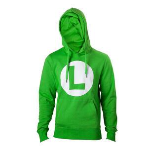 Felpa Nintendo. Green With L Logo In Front