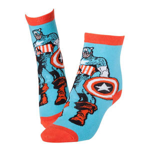Calzini Marvel. Captain America Red & Blue