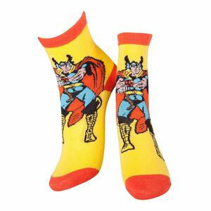 Calzini Marvel. Thor Yellow & Red