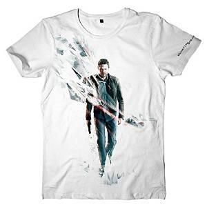 T-Shirt Unisex Quantum Break. Break Box Art