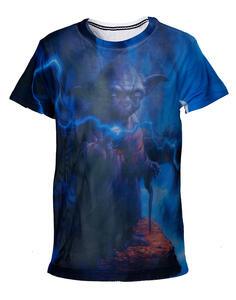 T-Shirt Bambino Star Wars. Yoda Mesh