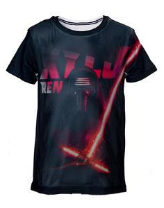 T-Shirt Bambino Star Wars. Kylo Ren Mesh