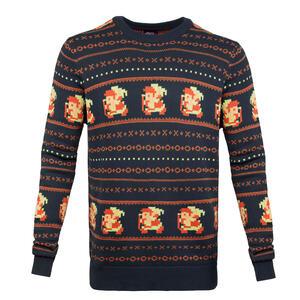 Maglione Unisex Tg. 2XL Nintendo. Zelda Knitted Holiday Blue