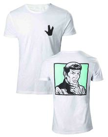 T-Shirt Unisex Star Trek. Spock Your Logic Is Questionable