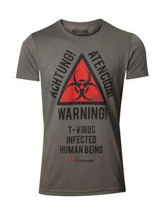 T-Shirt Unisex Resident Evil. Warning