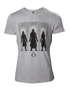 T-Shirt Unisex Tg. S Assassin's Creed. Group Of Assassin Black
