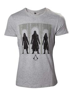 T-Shirt Unisex Tg. XL Assassin's Creed. Group Of Assassin Black