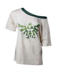 T-Shirt Donna Tg. L Nintendo. Zelda Off Shoulder Ladies T-Shirt