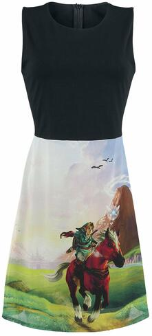 Vestito Donna Tg. XL Nintendo. Zelda Ocarina Of Time