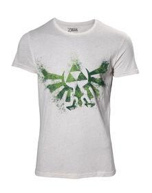 T-Shirt unisex Nintendo. Zelda Hyrule Nappy White