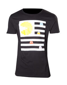 T-Shirt Unisex Pac-Man. Pac-Man And Ghosts