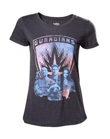 T-Shirt Donna Guardians Of The Galaxy. Guardians Grey