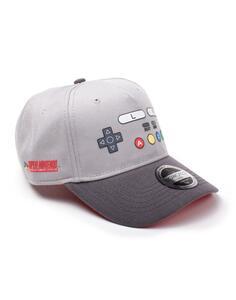 Cappellino Nintendo – Snes Buttons Curved Bill Adjustable Grey