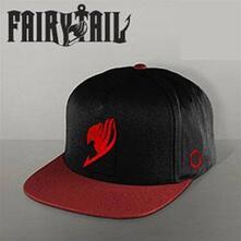 Cappellino Fairy Tail. Natsu Black/Burgundy