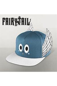 Cappellino Fairy Tail. Happy Blue/White