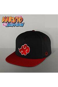 Cappellino Naruto. Akatsuki Black/Red