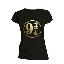 T-Shirt Donna Tg. M Harry Potter. 9 3/4 Black
