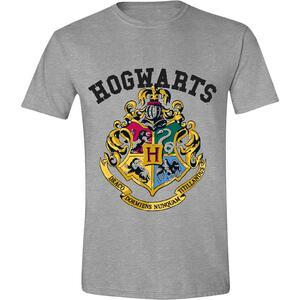 T-Shirt Unisex Tg. S Harry Potter. Hogwarts Grey