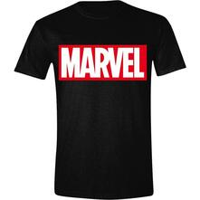 T-Shirt Unisex Tg. M Marvel. Logo Men Black