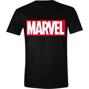 T-Shirt Unisex Tg. 2XL Marvel. Logo Men Black