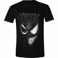T-Shirt Unisex Tg. 2XL Venom. Venom 2 Faced Black