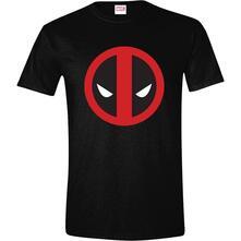 T-Shirt Unisex Tg. M Deadpool - Logo Black