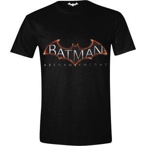 T-Shirt Batman. Arkham Knight. Logo Black