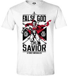 T-Shirt unisex Batman v Superman. False God