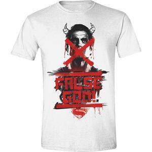 T-Shirt unisex Batman v Superman. False God Poster
