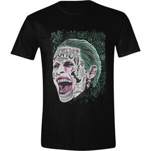 T-Shirt unisex Suicide Squad. Joker Screaming