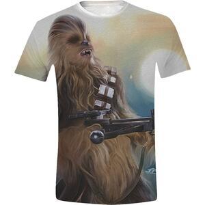 T-Shirt unisex Star Wars. Chewie Full Printed